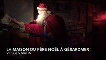 Le Père Noël ouvre les portes de sa maison de Gérardmer
