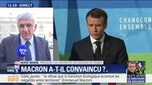 """Pour Hervé Morin, président des Régions de France, le discours d'Emmanuel Macron """"ne répond absolument pas à la colère de nos compatriotes"""""""