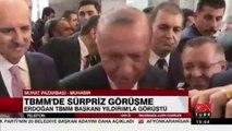 Erdoğan TBMM Başkanı Binali Yıldırım ile görüştü