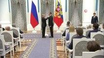Putin Önde Gelen İsimlere Onur Ödülü Verdi- Putin Rusya'nın Önde Gelen İsimlerini Kremlin'de...