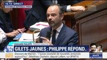 """Édouard Philippe affirme que """"nous devons associer les Français à cette réflexion"""" mais condamne les violences et intimidations envers les députés"""