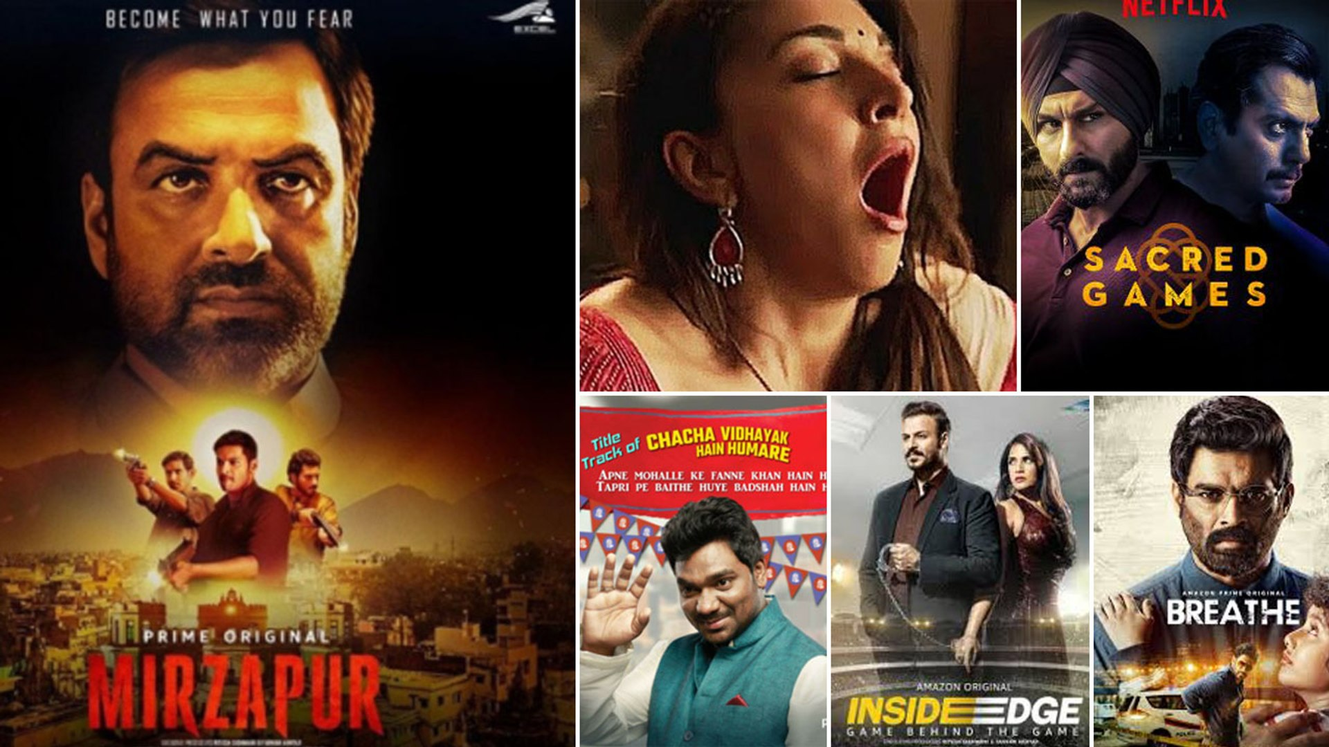 Mirzapur के अलावा Netflix & Amazon Prime की Top 5 Indian Web Series |  वनइंडिया हिंदी