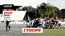 Bourgoin vs Nice, bande-annonce - RUGBY - FÉDÉRALE 1