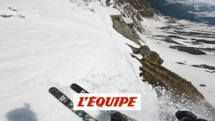 Caméra embarquée avec Markus Eder dans sa folle descente du Stelvio - Adrénaline - Ski freestyle