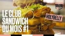 Le club sandwich du mois est gourmand chez Holybelly !