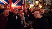 Ambiance au pub avant OL-Manchester City