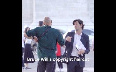 Les aventures de Hugues Blatard - Bruce Willis Copyright