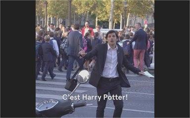 Les aventures de Hugues Blatard - Harry Potter aux Champs-Elysées