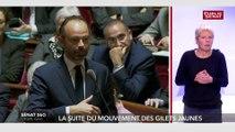Gilets jaunes : Réponse d'Edouard Philippe à Gérard Longuet