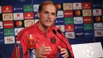 Replay : Conférence de presse de Thomas Tuchel et Marquinhos avant Paris Saint-Germain - Liverpool