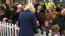 Prince Charles and Camilla visit Ely Markets