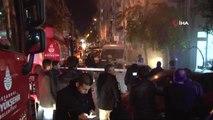 Fatih'te Kumaş Deposunda Çıkan Yangın Paniğe Yol Açtı