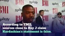 Ray J Says Kim Kardashian Didn't Use Ecstasy During Sex Tape