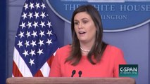 Sarah Huckabee Sanders Says Climate Change Report 'Not Based On Facts'