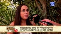 Según Brenda Romero, novia de Armando Paredes, no cree que Paredes haya obligado a Betzabé a besarse