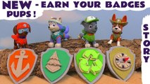 Paw Patrol Earn Your Play Doh Badges Pups with help from Thomas and Friends, Peppa Pig and Cars Characters, where the pups help Rescue the Accidents - A fun toy story for kids