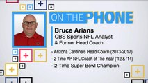 Tiki and Tierney: Bruce Arians talks coaching rumors