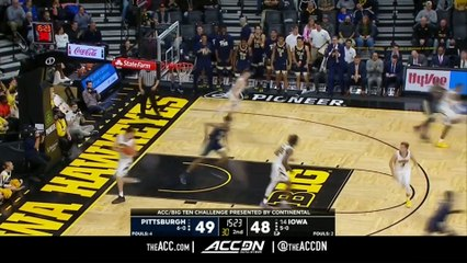 Pittsburgh vs. Iowa Basketball Highlights (2018-19)