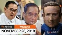 Lawmakers confirm Teddyboy Locsin as Philippine foreign secretary | Midday wRap