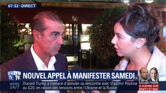 Gilets jaunes: les commerçants des Champs-Élysées craignent des débordements lors de la manifestation de samedi