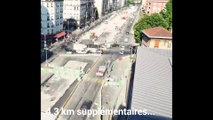 Prolongement tram T3