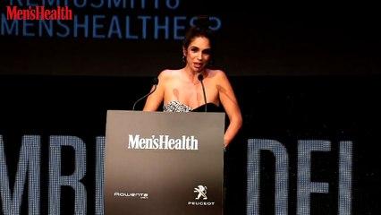 El emotivo discurso de Elena Furiase con Vicente del Bosque en los Premios Men'sHealth