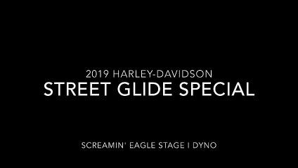 2019 Harley-Davidson Street Glide Special Stage I Dyno