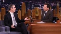 John Oliver Opens Up About Not Announcing Birth  of Son | THR News