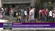 Venezuela: anuncian precios acordados para 29 rubros