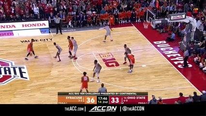 Syracuse vs. Ohio State Basketball Highlights (2018-19)