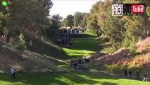 【ゴルフ】tiger woods vs phil mickelson no8hole(タイガーウッズ vs フィルミケルソン)8番ホール