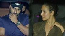 Malaika Arora & Arjun Kapoor enjoy Late Night Dinner at Amrita Arora house; Watch | FilmiBeat