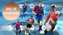 6 super stars qui ont joué au PSV et au Barcelona