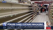Gilets jaunes: à cause des blocages, certains supermarchés connaissent la pénurie