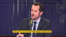 """#GiletsJaunes La rencontre entre Edouard Philippe et les """"gilets jaunes"""" """"n'aura aucun impact"""", il faut un """"moratoire sur les hausses d'impôts"""" affirme Nicolas Bay"""