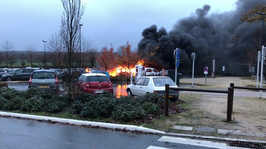 Incendie de voitures