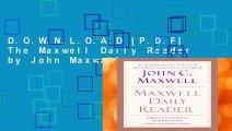 D.O.W.N.L.O.A.D [P.D.F] The Maxwell Daily Reader by John Maxwell