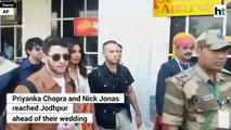 Priyanka Chopra and Nick Jonas arrive in Jodhpur ahead of wedding
