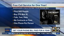 Marshawn Lynch offering free cell phone service for a year