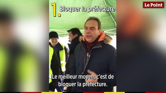 Comment être un gilet jaune efficace, selon le maire d'Evreux