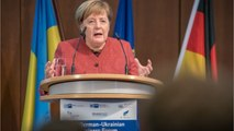 Merkel: Russia Sanctions Are For The Sake Of International Law