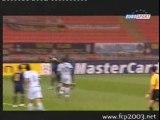 Coup franc de Hugo Almeida contre l'Inter de Milan