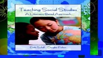 F.R.E.E [D.O.W.N.L.O.A.D] Teaching Social Studies: A Literacy-Based Approach by Emily Schell