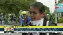 Colombia: universitarios rechazan represión por parte del ESMAD