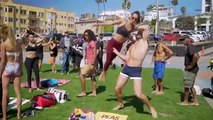 People Are Awesome Games   Original Muscle Beach (Ninja Warrior, AcroYoga, Slacklining)