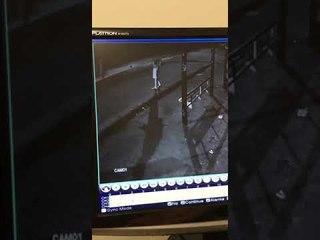 Imagens mostram estudando desaparecido entrando em veículo