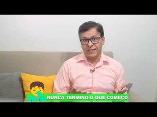 Mente Aberta, com o psicólogo Carlos Gonçalves,aborda o tema nunca termino o que começo