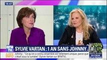 Pourquoi Sylvie Vartan n'a pas souhaité écouter le dernier album de Johnny