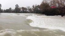 Antalya Manavgat Irmağı'nda Su Yükseldi