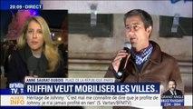 Gilets jaunes: François Ruffin prend la parole place de la République